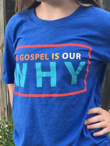 The Gospel Is Our Why Plain Tee